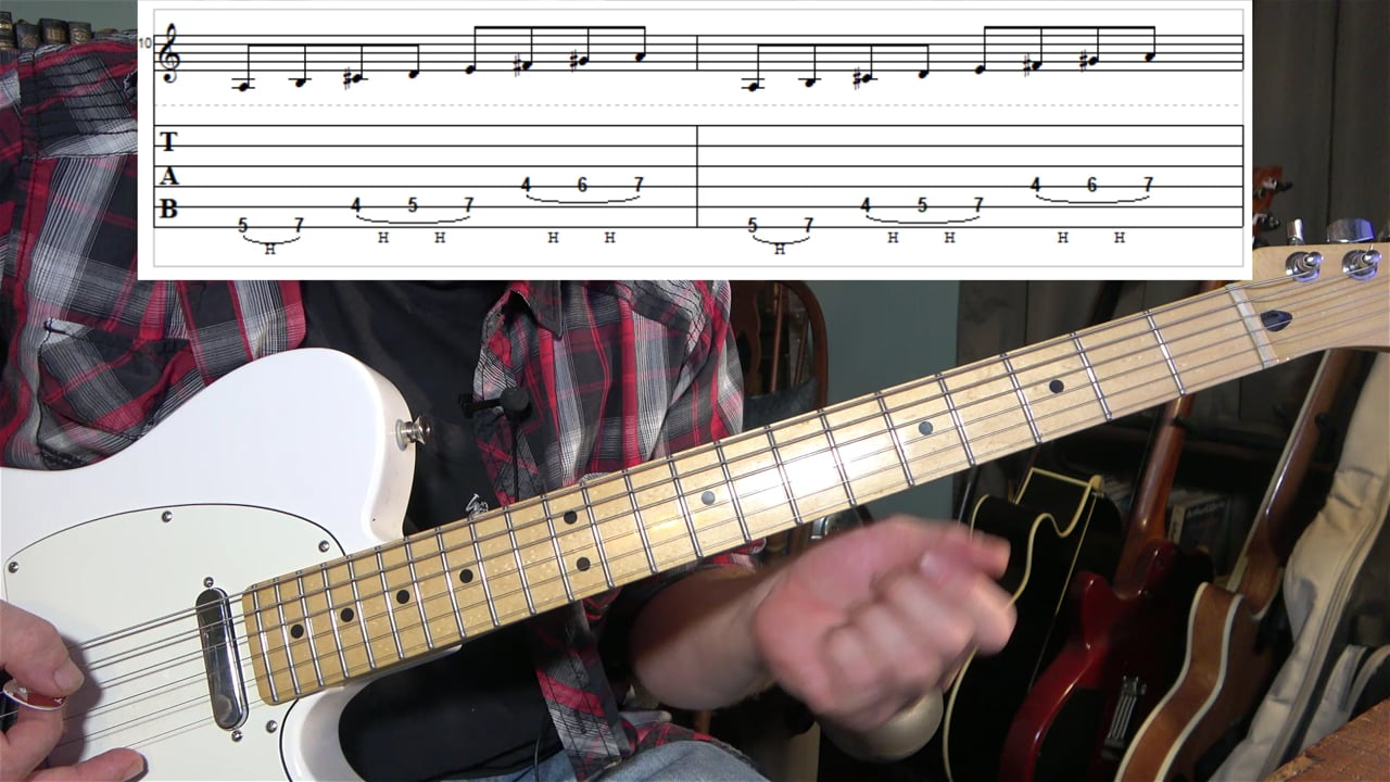 Major Scale With Hammer-Ons